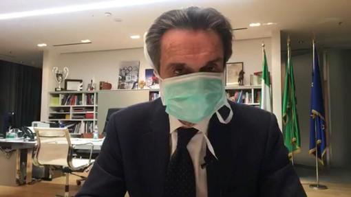 """Il governatore della Lombardia: """"Una mia stretta collaboratrice positiva al Coronavirus: mi auto-isolo"""""""