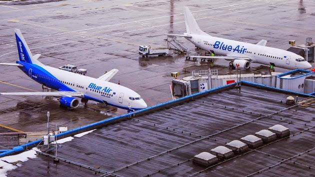 Blue Air, tre nuovi voli da Torino