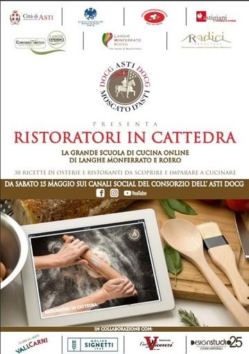 """La grande cucina di Langhe, Monferrato e Roero è protagonista di """"Ristoratori in cattedra"""""""
