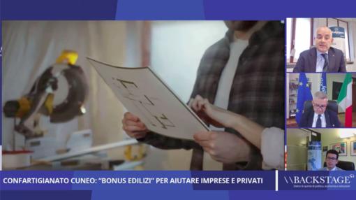 Backstage, rivedi la puntata: 'Confartigianato Cuneo, 'bonus edilizi' per aiutare imprese e privati'
