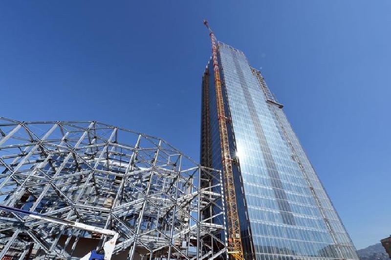 Grattacielo della regione piemonte a marzo potrebbero for Grattacielo torino fuksas