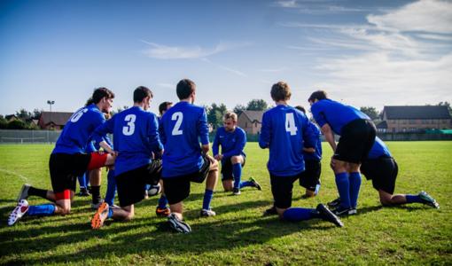 Domenica amichevole  di calcio unificato per celebrare la giornata mondiale del rifugiato