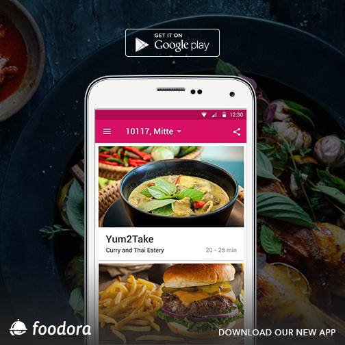 Foodora gutschein app