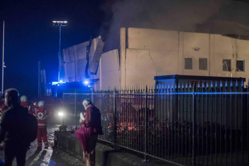 SCARMAGNO - Esplosioni in azienda chimica in localita' Masero