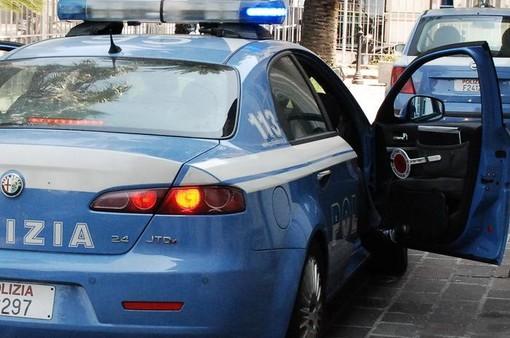 Auto della polizia - immagine d'archivio