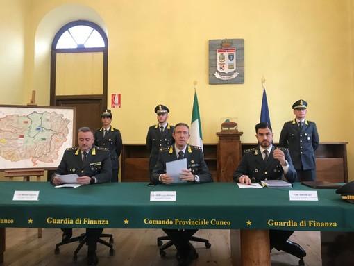 """Frode fiscale, messa a segno la più importante operazione della GDF di Cuneo: """"sequestro di beni per 21 milioni di euro"""". Ai domiciliari anche tre torinesi"""