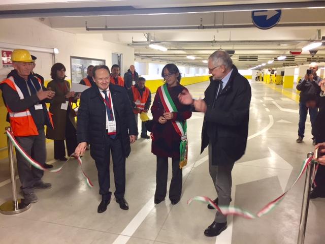 Porta Nuova, inaugurato il nuovo parcheggio sotterraneo sul lato di via Sacchi