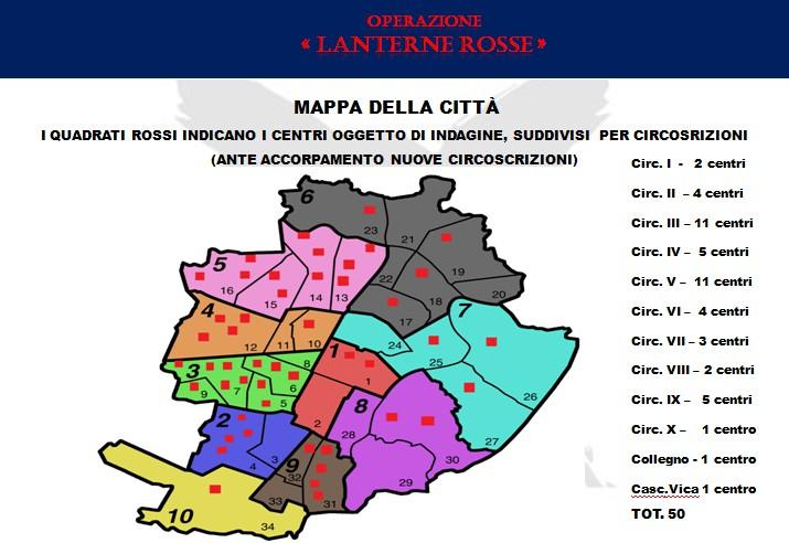 Chiusi 47 centri massaggi hard a Torino