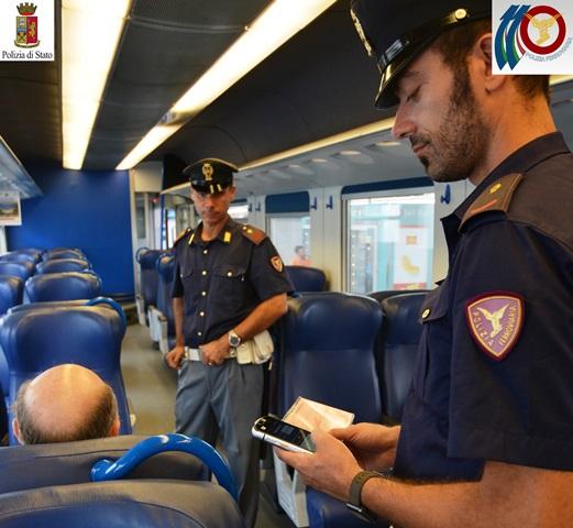 Ricercato arrestato sul treno notte Roma-Torino