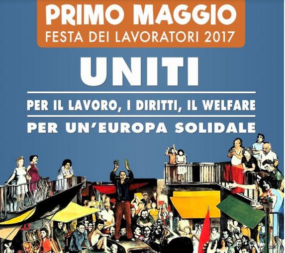 1 maggio, tensione a corteo Torino: lancio uova contro polizia