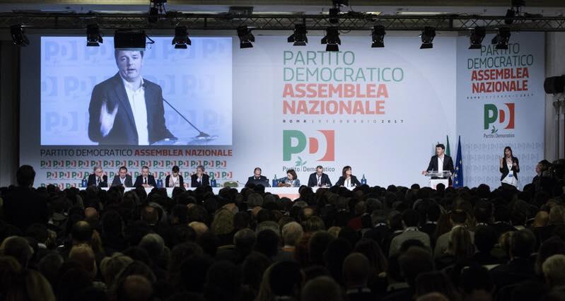 Renzi si ricandida alla segreteria Pd,