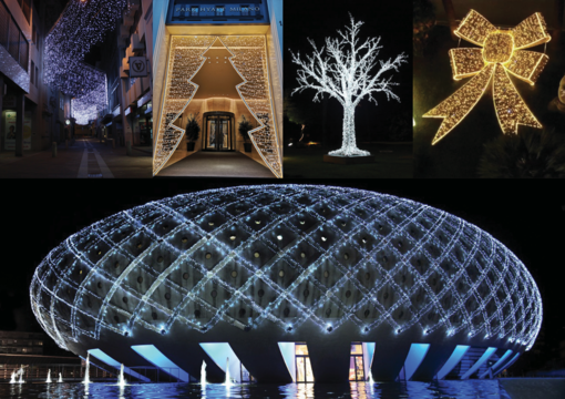 """Il Natale è la festa della luce. A casa e in città: """"lights that speak"""""""