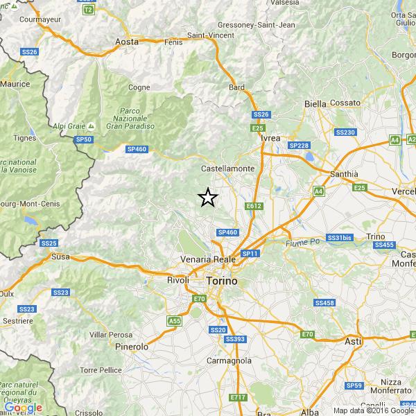 Oggi a La Spezia una scossa di magnitudo 4