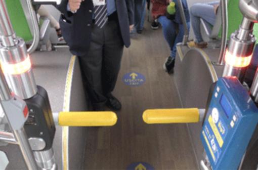 Tornelli sui bus: dal 10 giugno sulla linea 6