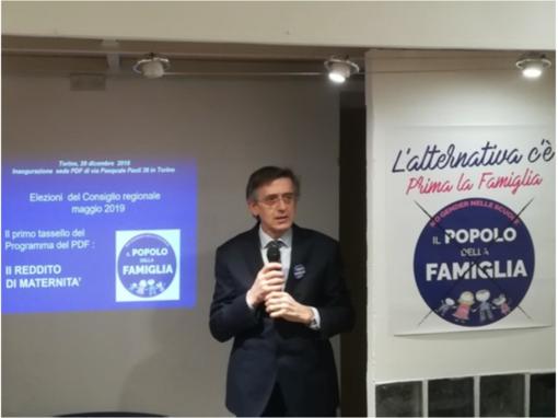 """Maurizio Schininà: """"Nelle elezioni Regionali in Piemonte Il Popolo della Famiglia sarà determinante"""""""