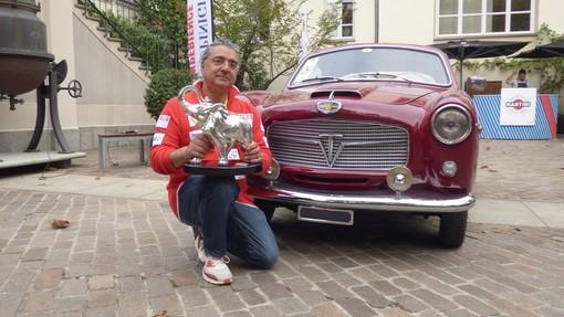 Antonio Carastro si aggiudica il Gran Gala Ceirano su Fiat 1100TV Pininfarina