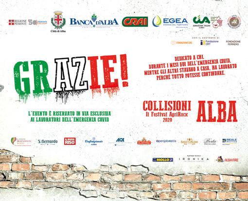 """Al via il festival """"GRAZIE"""" di Collisioni"""