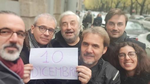 """Le sardine arrivano anche in piazza Castello, appuntamento il 10 dicembre: """"Torino si Slega!"""