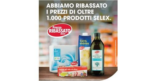 Mercatò difende il potere di spesa delle famiglie: ribassati i prezzi su oltre mille prodotti a marchio Selex