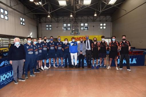 Presentata la Serie A1 del Frandent Group Cus Torino tennistavolo