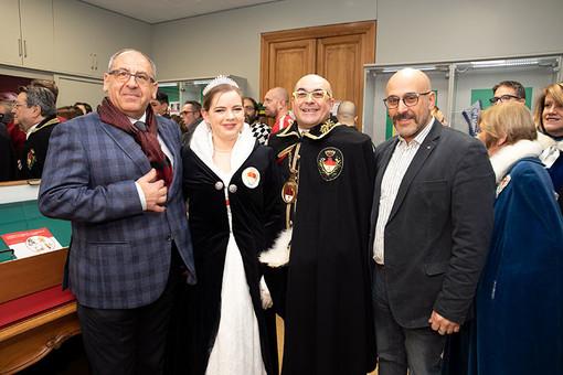 Si è aperta la mostra Carnevali piemontesi: Chivasso, Ivrea, Santhià e Borgosesia i grandi protagonisti