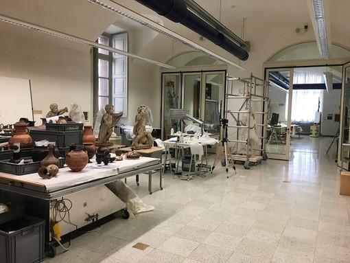 Per tutto il mese di ottobre apre al pubblico il laboratorio di restauro di Palazzo Carignano
