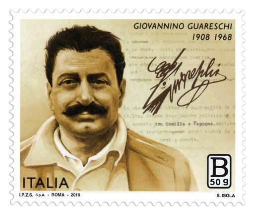 Anche a Torino il francobollo dedicato a Giovanni Guareschi