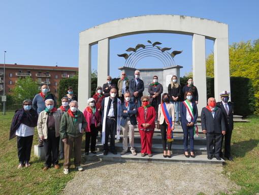 25 aprile: le celebrazioni del 76° anniversario della Liberazione a Settimo Torinese