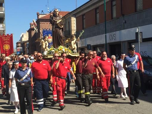 Chivasso, processione con il Beato Angelo Carletti