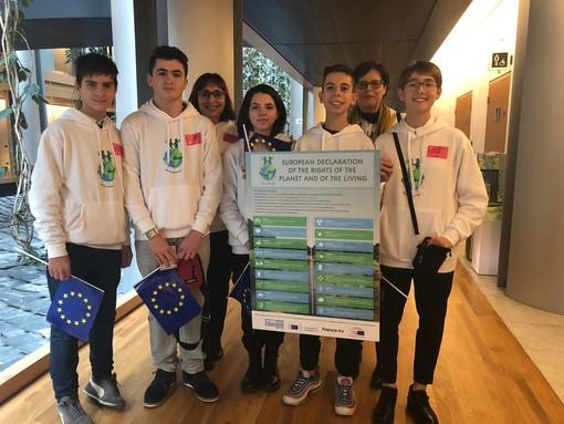 Da Collegno a Strasburgo per scrivere la Carta dei Diritti del Pianeta