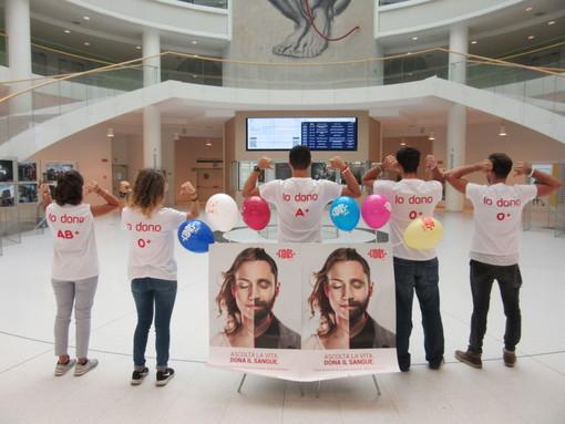 A Torino i donatori di sangue della Fidas si schierano contro l'Aids