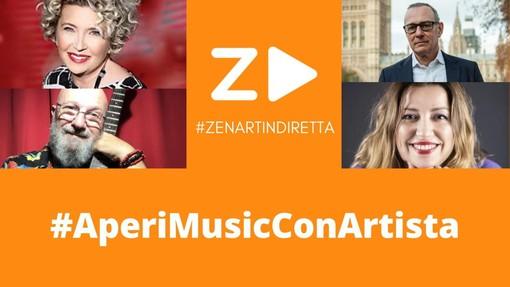 Zenart Cooperativa Artistica lancia la campagna #AperiMusicConArtista