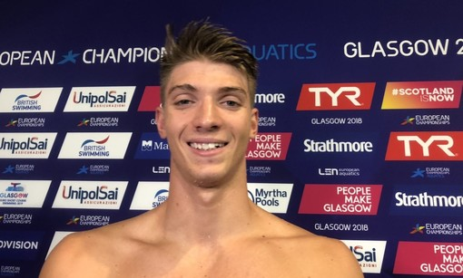 Nuoto, Europei in vasca corta: Alessandro Miressi sesto nei 50 stile libero