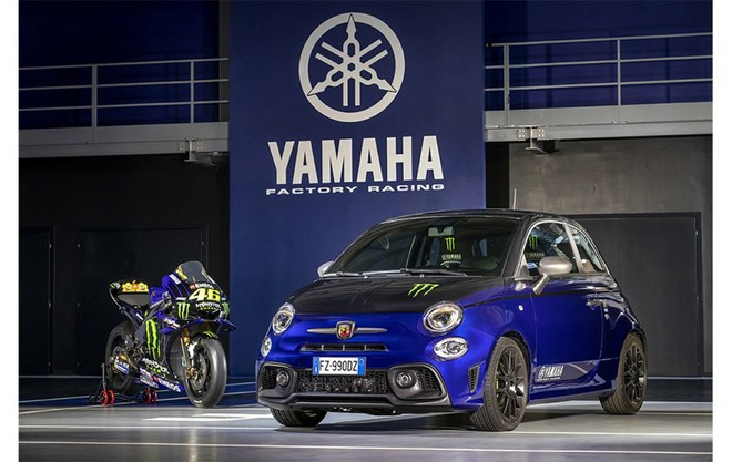 Nuove Abarth 595 Scorpioneoro e Abarth 595 Monster Energy Yamaha, le due anime del brand Abarth