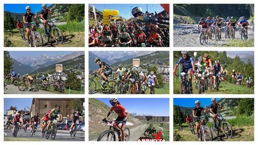 I campioni della mountain bike in pista nell'Assietta Legend di Sestriere