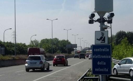Le vie di Torino in cui saranno posizionati questa settimana gli autovelox