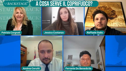 Backstage: a cosa serve il coprifuoco? Rivedi la puntata (video)
