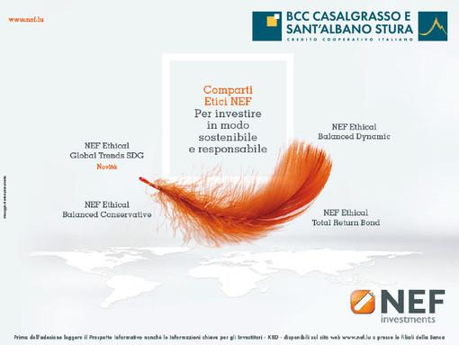 Investire responsabilmente con BCC di Casalgrasso e Sant'Albano Stura