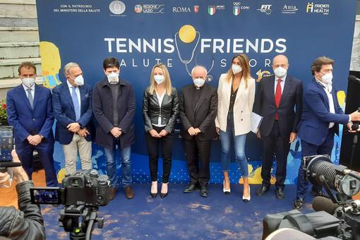 """""""Tennis & Friends - Salute e Sport"""" a Torino per promuovere la cultura della prevenzione sanitaria in vista delle Atp Finals"""
