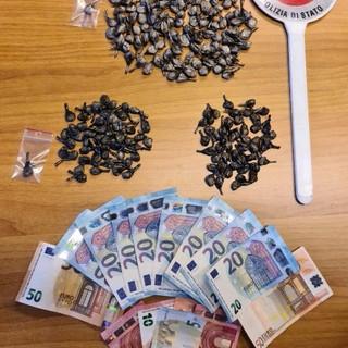 cocaina crack e soldi proventi di spaccio