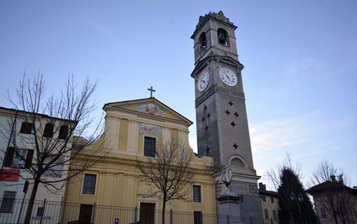 La parrocchia di Santa Maria a Bricherasio