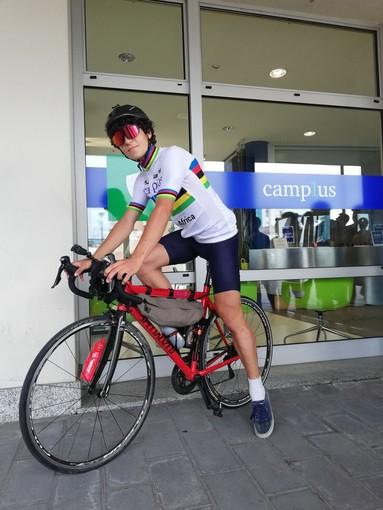 "Parte da Torino ""BikesXAfrica"", il tour di found raising solidale di Camplus"