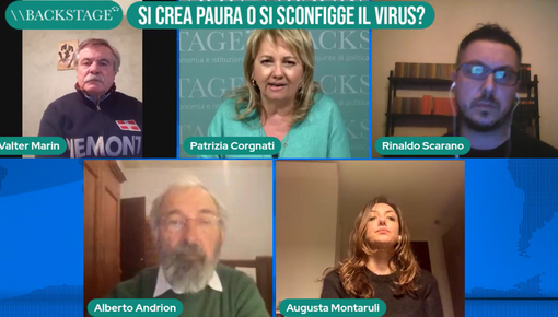 Backstage: si crea paura o si sconfigge il virus? Rivedi la puntata (video)