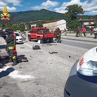 Incidente a Bagnolo Piemonte