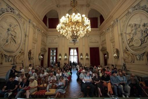 Paolo Flores d'Arcais e Gustavo Zagrebelsky al Circolo dei lettori