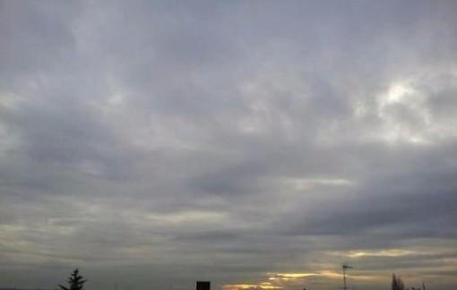 cielo nuvoloso - foto di archivio
