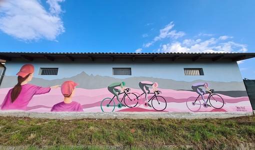 Il murale di Castagnole Piemonte