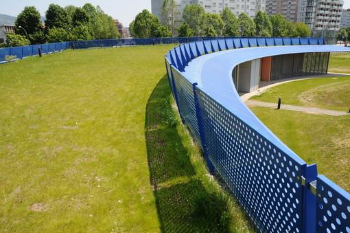 Un tetto verde per l'Open 011: l'acqua del piogge per bagnare le piante