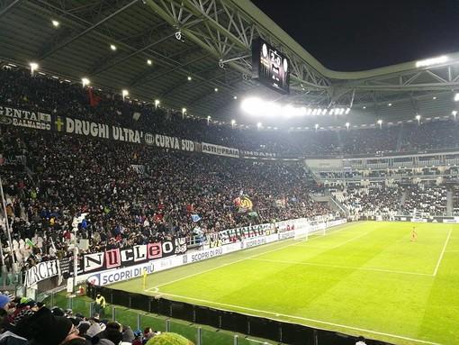 Juve, la curva sud chiusa ai tifosi sarà occupata dai giovani delle società dilettantistiche del Piemonte