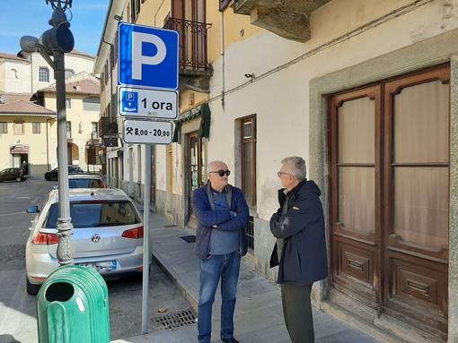 Il sindaco Costelli e il consigliere Roggero